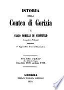 Istoria della Contea di Gorizia
