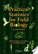 Practical Statistics for Field Biology