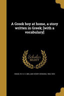 GRE A GREEK BOY AT HOME A STOR