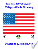 Essential 120000 English Malagasy Words Dictionary Book PDF