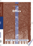 Philosophical Perspectives  Ethics