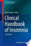 Clinical Handbook Of Insomnia