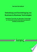 Verbreitung und Durchdringung von Business-to-Business Technologien