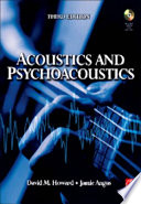 Acoustics and Psychoacoustics