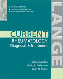 Current Rheumatology Diagnosis   Treatment