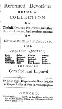 download ebook reformed devotions. being a collection of the best hymns, prayers, and other spiritual exercises ... composed by divines of the church of england, and foreign ascetics, laud, cosins, ... etc. by j. w. pdf epub