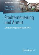 Stadterneuerung und Armut Book