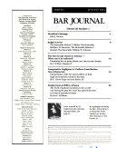 Arizona Bar Journal