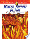 Creative Haven Winged Fantasy Designs Coloring Book