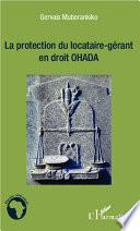 La Protection Du Locataire G Rant En Droit Ohada