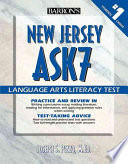 New Jersey ASK Grade 7 Language Arts Literacy  LAL  Test