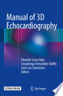 Manual of 3D Echocardiography