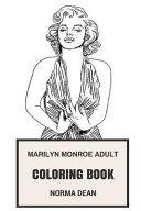 Marilyn Monroe Adult Coloring Book