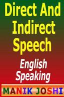 Direct and Indirect Speech: English Speaking