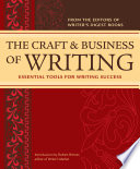 The Craft   Business Of Writing