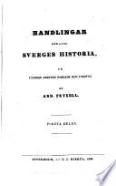 Handlingar rörande Sveriges historia