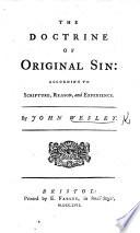 Book The Doctrine of Original Sin