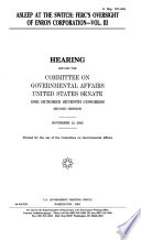107 2 Hearing  Asleep At The Switch  FERC s Oversight Of Enron Corporation  Vol  III  S  Hrg  107 854  November 12  2002    Book PDF