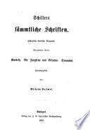 Schiller's sämmtliche schriften: Macbeth; Jungfrau von Orleans; Turandot, hrsg. von Wilhelm Vollmer