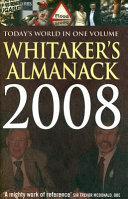 Whitakers Almanac 2008