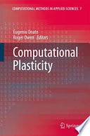Computational Plasticity book