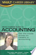 Vault Career Guide to Accounting