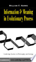 Information and Meaning in Evolutionary Processes