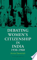 Debating Women's Citizenship in India, 1930–1960