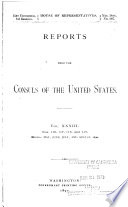 Commercial Relations of the United States with For