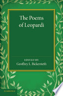 The Poems of Leopardi