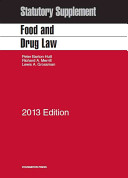 Food and Drug Law Statutory Supplement