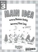 Main Idea Grade 3 Flash Skills  book