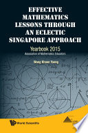 Effective Mathematics Lessons through an Eclectic Singapore Approach