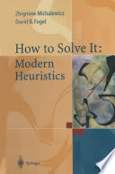 How to Solve It  Modern Heuristics