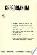 Gregorium  Vol 62