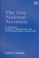 The New National Accounts