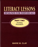 Literacy Lessons Designed For Individuals Part Two