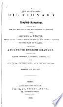 New and Enlarged Dictionary of the English Language