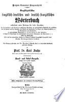 Encyklopädisches französisch-deutsches und deutsch-französisches Wörterbuch, enthaltend unter anderem für beide Sprachen