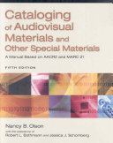 Cataloging of Audiovisual Materials and Other Special Materials