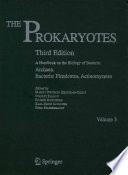The Prokaryotes  Vol 3  Handbook on the Biology of Bacteria  3rd Ed  2006