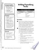 Academic Vocabulary Level 1  Writing Expository Texts