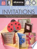 Unforgettable Invitations