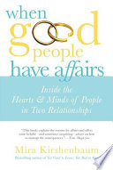 When Good People Have Affairs Book PDF