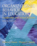Organizational Behavior In Education
