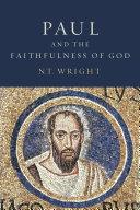 Paul and the Faithfulness of God