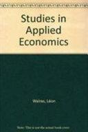 Studies in Applied Economics