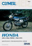 Honda 250 350cc Twins 64 74