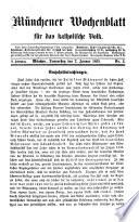 M  nchener Wochenblatt f  r das katholische Volk
