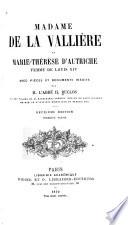 Mademoiselle De La Valli Re Et Marie Th R Se D Autriche Femme De Louis Xiv